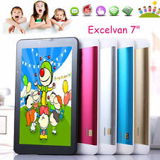 Kids 7'' Dual Core Bluetooth SD Card Android 4.4 8GB Dual Camera Wi-Fi Tablet PC