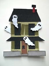 3D - U Pick - HS4 Haunted Houses Halloween Scrapbook Card Embellishment