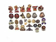 RCMP - Royal Canadian Mounted Police Lapel Pins (C)