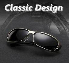 Men's Polarized Lens Sunglasses Driving Glasses Cleaning, Cloth Hard  & EVA Case