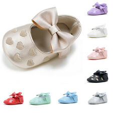 New Baby Tassel Soft Sole Leather Shoes Infant Boy Girl Toddler Crib Shoes 0-18M