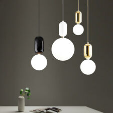 New Simple Round Chandeliers Glass Pendant Lighting Ceiling Lamp Fixtures Light