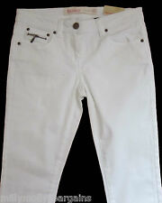 New Womens White Skinny NEXT Jeans Size 18 16 14 Long Regular Petite