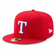 Texas Rangers 2017 59Fifty Authentic Fitted Performance Alternate MLB Baseball