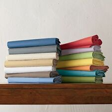 3 PC Fitted Sheet Set 1200 TC 100%Egyptian Cotton All Sizes New Solid Colors