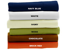 4 PC Sheet Set 1200 TC 100%Egyptian Cotton Bedding All Sizes New Solid Colors