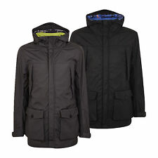 Mens Duck and Cover Zip Up Hooded Jacket Coat