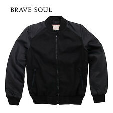 _bravesoul Detroit - wool mix baseball jacket (BS188)