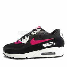 Nike WMNS Air Max 90 [325213-040] NSW Running Black/Sport Fuchsia-White
