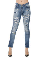 DIESEL New Woman Stretch Denim Sandy Pants Jeans Made in Italy NWT