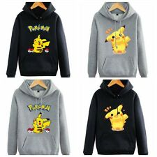 Hot Style! pokemon Pikachu Hoodie Jacket Hooded Sweatshirt Tops
