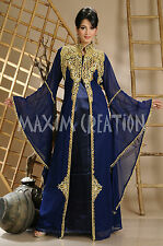 Stylish Long Maxi Kaftan Farasha Party Wear Night Dress By Maxim Creation 3129