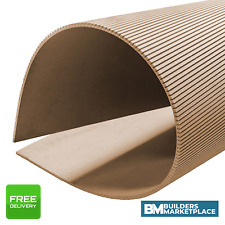 Flexible MDF Sheets - Flexi MDF Bendy MDF Flexi Board Curved MDF - 6mm