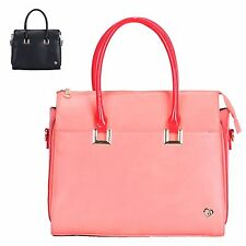Ladies Fx Leather Anna Smith Style Shoulder Handbag Summer Party Grab Bag GA3484