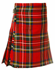 Scottish Royal Stewart Family Tartan Kilt