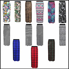 Ladies Womens Sexy Gypsy Maxi Skirt Printed Hot Hen Night Dance Party Costume »
