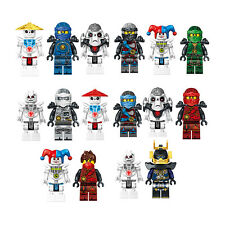 All Kinds Of Ninjago Minifigures Ninja Building Blocks Toy Childrens' Gift