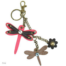 Chala Mini Keychains/Fobs, Purse Charms~Dragonfly