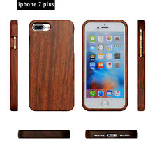 Genuine Natural Wood Wooden Bamboo Phone Cover Case For iPhone 6 6s 7 Plus 5s