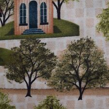 Quilting Fabric Cotton Calico Quilt FQ: Home is Where the Heart Is by Cranston