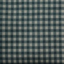 Quilting Fabric Cotton Calico Quilt Green Plaid: Winter Friend by Claire Murray