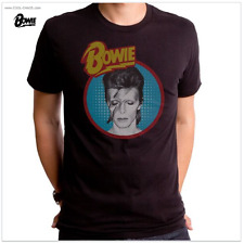 David Bowie Starman T-Shirt / Official Bowie Retro Rock Tee,New 2017,Men's Tee