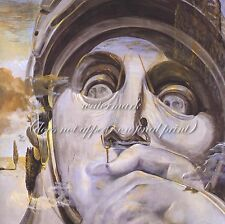 "SALVADOR DALI Surrealism Art Painting Poster or Canvas Print ""Warrior"""