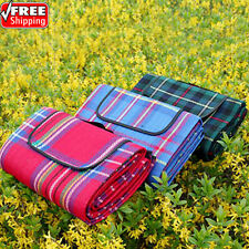 Camping Mat picnic Blanket Foldable Baby Climb Plaid Blanket Outdoor Waterproof