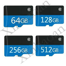 32GB 64GB 128GB 256GB 512GB Micro SD SDHC SDXC TF Flash Memory Card C10 +Adapter