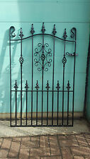 Wrought Iron Metal Garden Gate-TOP QUALITY - 4ft (1219mm) Frame height