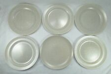 Poole Pottery 6 Dinner Plates Twintone Seagull Glaze 1950's 10 1/8 inches 25.5cm