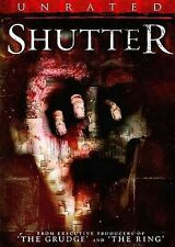 Shutter - Horror BRAND NEW SEALED (DVD, 2009, Unrated Edition)