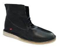 New Oliberte Womens Hana Black Sheep Ankle Boots Sizes