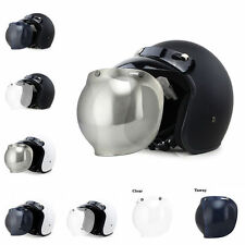 Professional Motorcycle Harley Helmet Safety Scooter Bubble Visor GS01 Light ABS