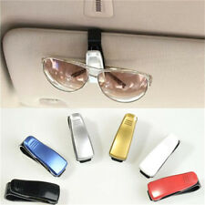 1x Fashion Car Vehicle Sun Visor Sunglasses Eye Glasses Card Pen Holder Clip BH