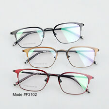 F3102 full rim unisex stainless steel myopia eyewear eyeglasses optical frames