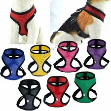 Puppy Pet Dog Cat Soft Leash VEST Breathe Mesh Adjustable Harness Braces Clothes