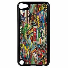 MARVEL DC Comics Plastic Case Cover for iPod 4th - 5th - 6th Generation D6