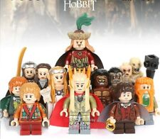 The Hobbit & The Lord of the Rings Custom mini figures set 8 pcs fit lego