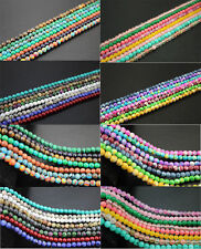 "Mixed 15"" 1strand Natural Gemstone Round Loose Spacer Beads 4mm(92PCS Beads) DIY"