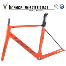 700C Full Carbon Road Bicycle Frameset BSA Racing Bike Frames Fork Seatpost