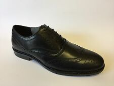 Mens RED TAPE Finest Quality Leather Brogue Smart Work Formal Shoe Black 7-12