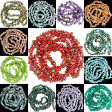 3x5-5x8mm Chinese Natural Gemstone Freeform Chips Loose Beads Strand Jewelry