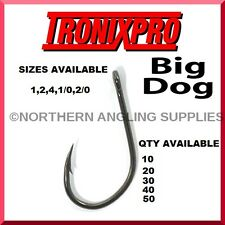 TRONIX BIG DOG HOOKS FOR GAME COARSE SEA BOAT FISHING BEACHCASTER ROD RIGS LURES