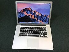  MacBook Pro 15 in. i7 Quad Core 2GHz UP to 16GB UP to 1TB SSD ~ 1YR WARRANTY