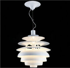 Snowball Pendant Poul Henningsen Designed Chandelier Ceiling Light Fixture New