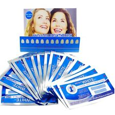 FULL COURSE of 28 x 1HOUR PROFESSIONAL TEETH WHITENING STRIPS 14 POUCHES