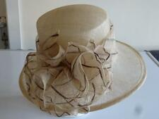 BNWT ,LADIES BALFOUR  OATMEAL Mother of the Bride,Wedding ,Ascot Races,Hat