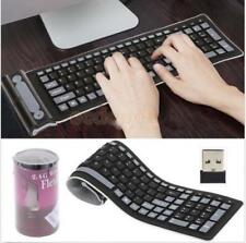 Waterproof USB Silicone Rubber Flexible Foldable Keyboard for PC Laptop Computer
