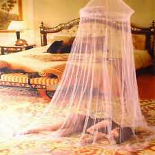 Elegant Round Lace Insect Bed Canopy Netting Curtain Dome Polyester Mosquito Net